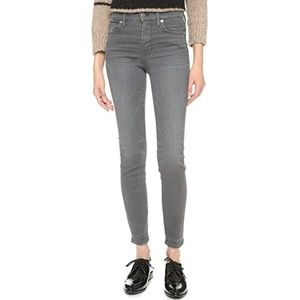 madewell ▪ high riser skinny in dusty gray